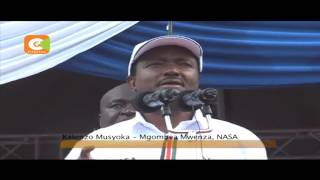 IEBC yapuuzilia mbali vitisho vya Nasa