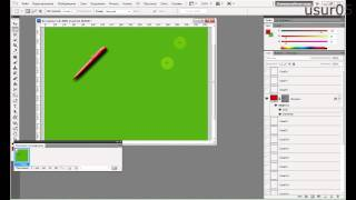 Как сделать анимацию волшебная ручка на Photoshop CS5 видеоурок