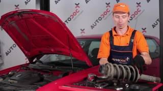 Jak a kdy vyměnit zadní a přední Lozisko pruzne vzpery VW GOLF IV Van (1J1): video návody