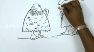 How to Draw Rainy Day In Stone Age