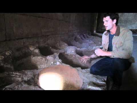 Battle Castle: host Dan Snow discovers Crac des Chevaliers' underground stores