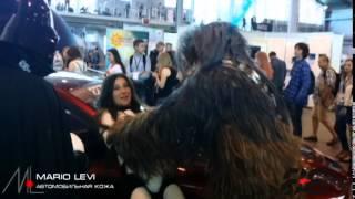 Chewbacca Vs Girl Darth Vader Evil Empire Старкон 2014