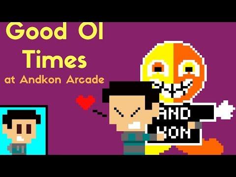 Good ol times at Andkon Arcade