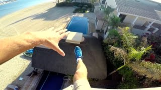 Я каскадер! Crazy Pool Drop. Dubai #7