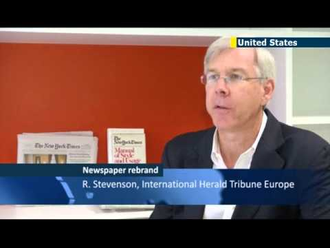 International Herald Tribune Rebranded: US expat newspaper becomes International New York Times