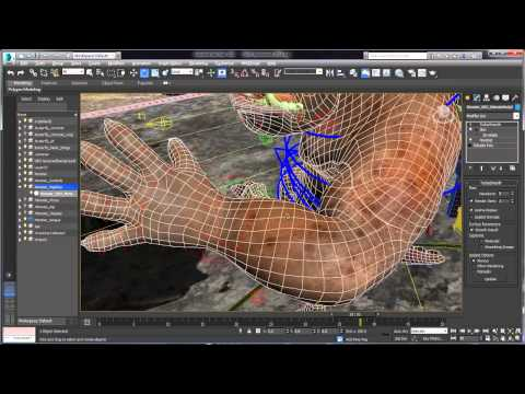 3ds Max and 3ds Max Design 2015 Extension 2 - Dual Quaternion Skinning