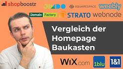 Webseite Baukasten: Vergleich der besten Homepage Baukasten [2019]