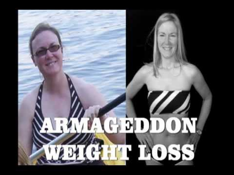 ARMAGEDDON WEIGHT LOSS DVD – EXERCISE DVD PROGRAM – FITNESS DVD FOR WOMEN AND MEN