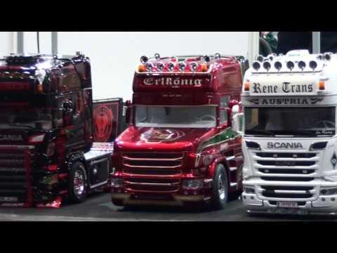 Show-Trucks und Landmaschinen zur modell-hobby-spiel Messe Leipzig 2016