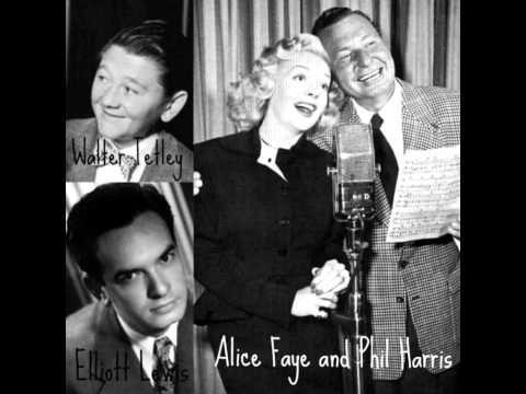 Phil Harris Alice Faye Show ~ Phil's Easy Chair Must Go