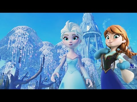 Frozen Elsa Play with Disney Princess Anna in Frozen Movie Arendelle Adventure