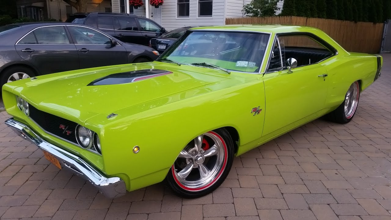 1968 Dodge Coronet R/T Tribute For Sale~383~Restored~Sublime Green