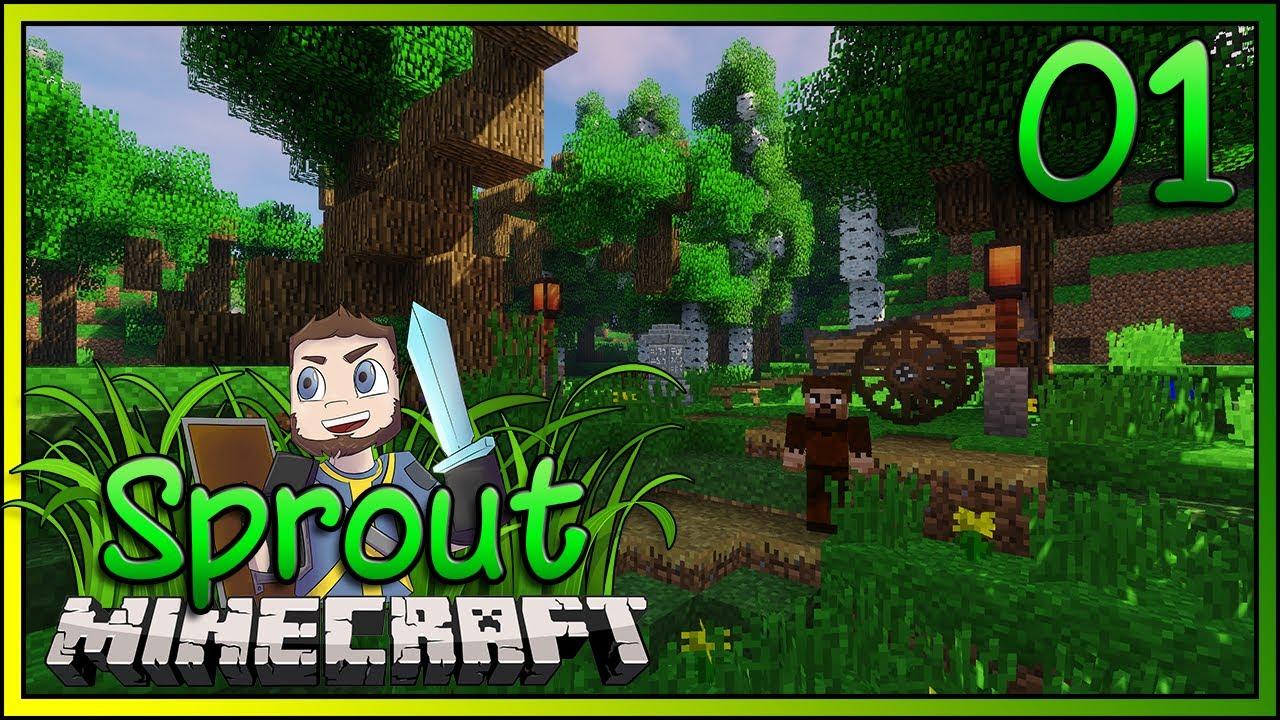 Minecraft Sprout ► BEST NEW RPG MODPACK!!! ► EP 1 [1 10 2 Modded Minecraft]