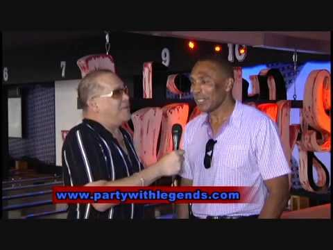 "Roger Craig talks about the Legends After Party at Lucky Strike with DG ""Dave Guingona"""