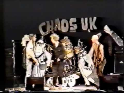 Chaos UK and Disorder - Oslo, 1987