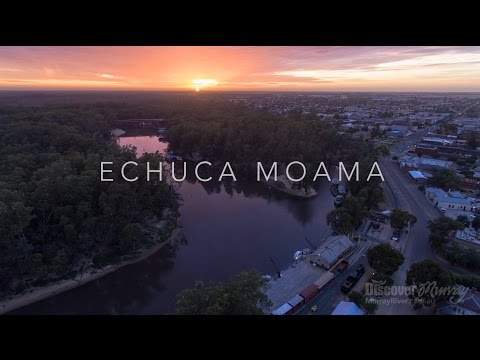 Murray River Bird Aerial Video - Echuca Moama - Discover Murray River