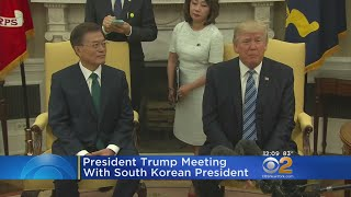 Trump Meets With South Korean President
