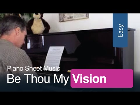Free Sheet Music   Be Thou My Vision for Easy Piano