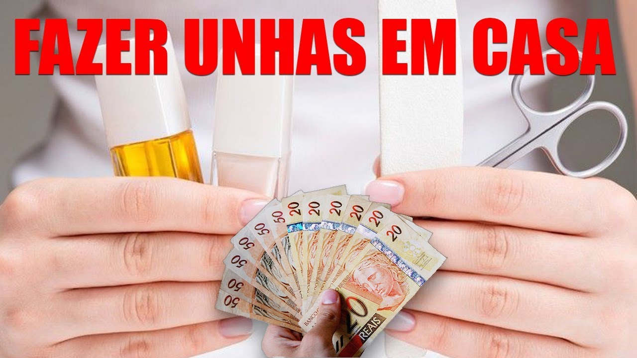 APRENDA A FAZER UNHAS EM CASA E ECONOMIZE DINHEIRO