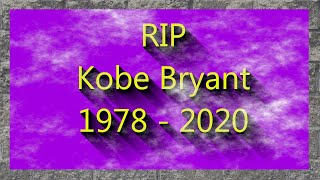 RIP Kobe Bryant 1978 to 2020 l Sports News l Karl's commentary