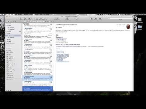 Apple Mail Archiving