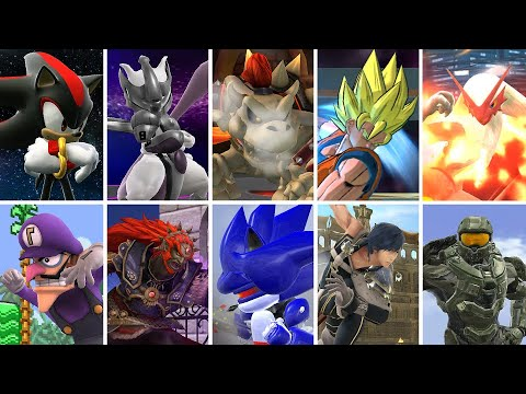 Best Smash Bros Characters And Stages - Smash 4 Best Mods