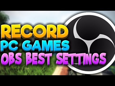 How To Record PC Games with OBS Studio! | OBS Best Settings (1080p 60fps No Lag and Facecam!)