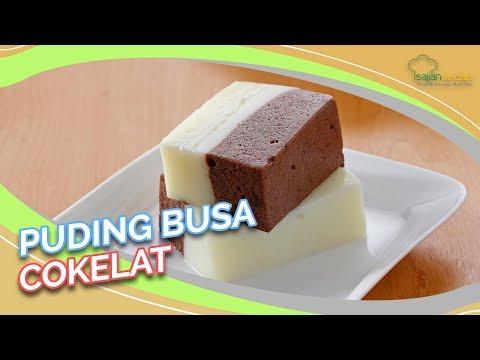 Resep Puding Busa Cokelat yang Manisnya Pas untuk Menutup Makan Siang