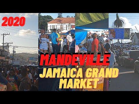 MANDEVILLE GRAND MARKET 2020| MANCHESTER JAMAICA| CHRISTMAS EVE SHOPPING