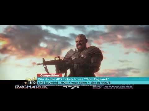 "Win tickets to see 'Thor Ragnarok"" in 4DX (NU METRO)"