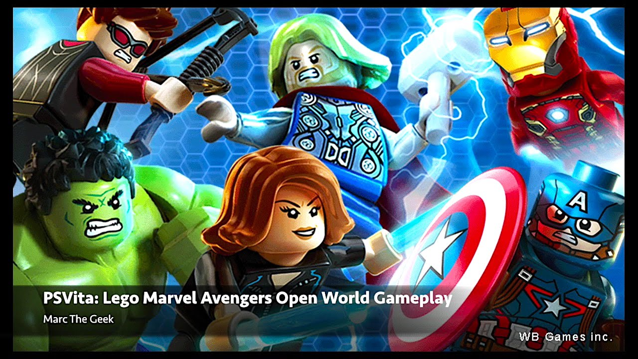 PSVita: Lego Marvel's Avengers Open World Gameplay (Video 2)