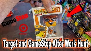 Target and GameStop | After Work Toy Hunt