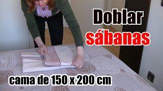 Como organizar y doblar sábanas para aprovechar el espacio - Método del bolsillito