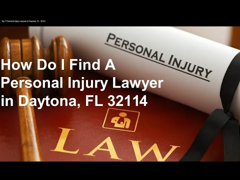 Top 7 Personal Injury Lawyers in Daytona, FL  32114