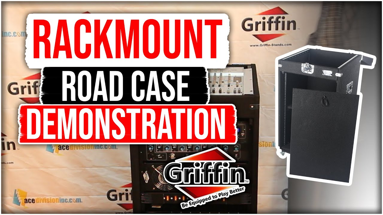 Griffin Rackmount Road Case Studio Mixer Cabinet Product Review ...