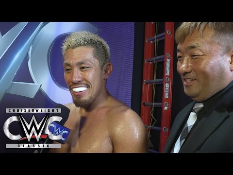 Akira Tozawa turns his focus to competing inside a WWE ring: CWC Exclusive, Aug. 31, 2016