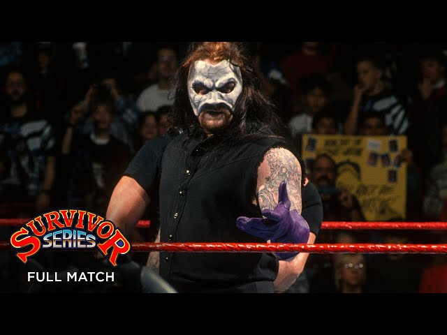 FULL MATCH - The Darkside vs. The Royals – Elimination Tag Team Match: Survivor Series 1995