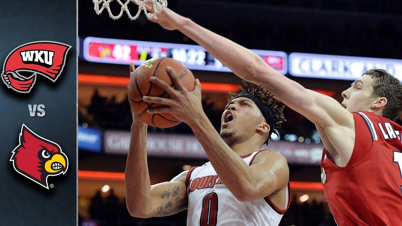 Uk Basketball: Louisville Vs. Western Kentucky Basketball Highlights