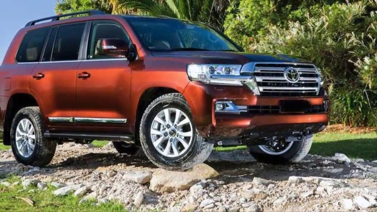 2018 Toyota Land Cruiser Prado Redesign And Release Date