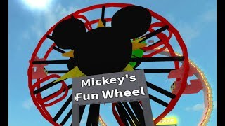 Mickey's Fun Wheel | Disney Roblox World Adventures