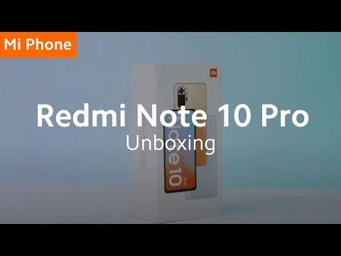 #RedmiNote10Pro: Unboxing