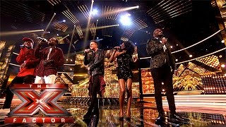Video The Final 13 perform One Direction's Perfect   Week 1 Results   The X Factor 2015 download MP3, 3GP, MP4, WEBM, AVI, FLV Oktober 2018