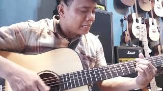 Esok kan masih ada (Fredrik Tarigan) Utha Likumahuwa Cover HEX guitar D70E quinn guitar