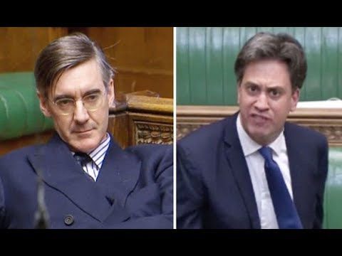 Jacob Rees-Mogg ROASTS Ed Miliband Using His Superior Constitutional Knowledge
