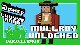 ★ DISNEY CROSSY ROAD Secret Characters   MULLROY Unlocked (Pirates of the Caribbean Update)