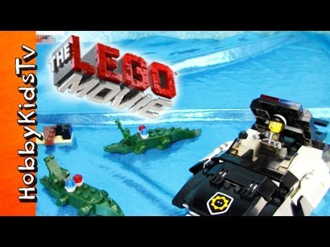 The LEGO Movie GOOD Cop BAD Cop's Pursuit! [Box Open] [Toy Review] (70802)