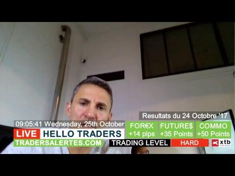 Hello Traders Emission du 25 Octobre 2017