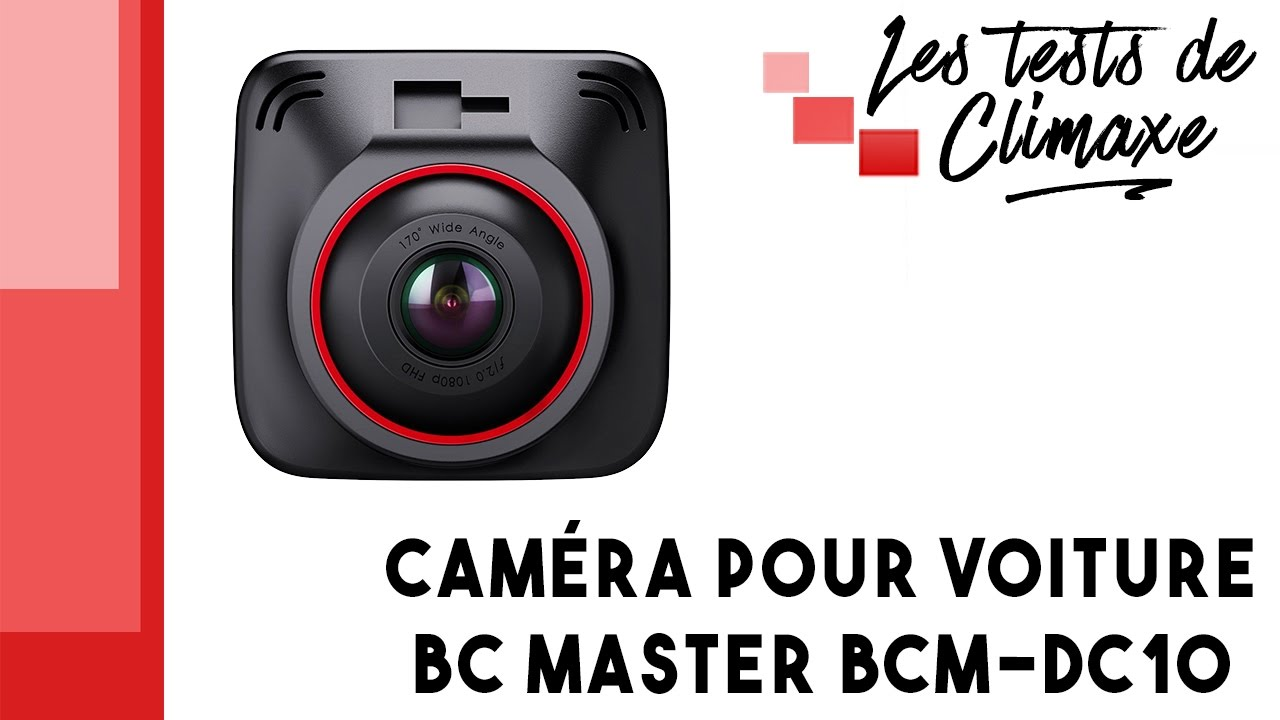 test d 39 une cam ra pour voiture dashcam bc master bcm dc10 youtube. Black Bedroom Furniture Sets. Home Design Ideas