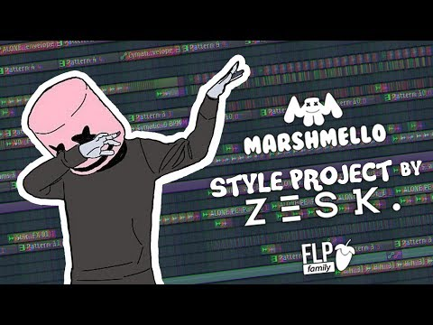 [FREE] Marshmello Style Project by z e s k .