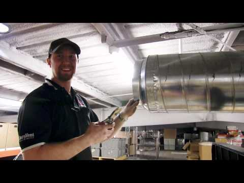 Duct Reduction - How to Install a Ductwork Reduction taper - PlumbersStock.com